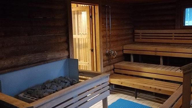 halsuan helmen sauna